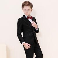 儿童小西服小孩钢琴演出服英伦风外套新款男童西装套装花童礼服