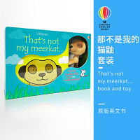 Usborne 原版英文 That's not my meerkat... book and toy 那不是我的猫鼬