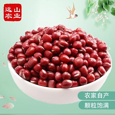 买4送1 远山农业福建农家红小豆500g 赤豆红豆研磨原料五谷杂粮 农家自产 颗粒圆润