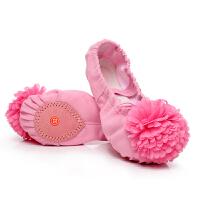 芭蕾舞鞋表演跳舞鞋猫爪鞋练功鞋儿童舞蹈鞋软底女童舞蹈鞋