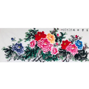 河南省美协会员 秦新义(富贵神伦)ZH156
