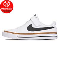 Nike/耐克童鞋新款低帮运动鞋舒适透气轻便耐磨魔术贴休闲鞋板鞋DA5381-102