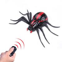 仿真遥控蜘蛛玩具创意智能电动网虫动物模型八脚螅喜子整蛊的礼物