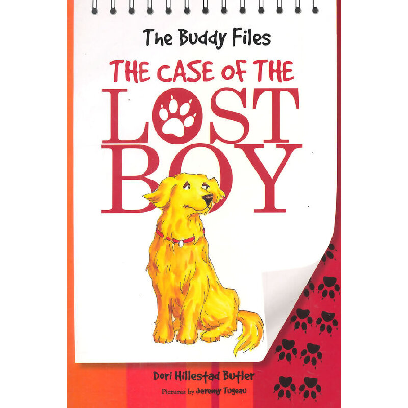 The Buddy Files: The Case of the Lost Boy (Book 1) 小狗神探1:消失的主人(获奖桥梁书) ISBN9780807509326