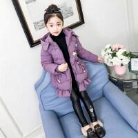 女童棉衣加厚冬装2018新款韩版潮冬季中大童儿童保暖棉服儿童棉袄