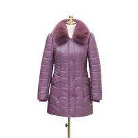 妈妈装冬装棉衣40-50岁中老年人女装冬季pu皮加厚中长款棉袄