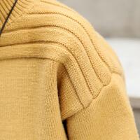 儿童冬装打底衫针织衫冬季新品韩版童装男童高领毛衣