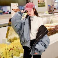 2018新款连帽两面穿冬季韩版小棉袄女短款加厚棒球服外套