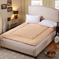 秋上新加厚榻榻米羊羔绒床垫学生宿舍垫被单人双人1.5/1.8m软海绵床褥子定制
