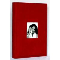 广美 4D/6D/全景大6寸相册影集 300张精品麂皮绒布面带记事影集 红