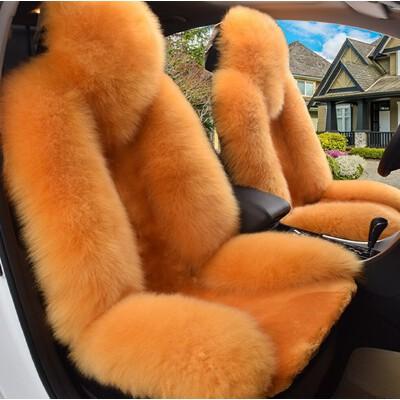 汽车坐垫 羊毛坐垫座垫 毛绒坐垫四季垫 冬季汽车羊毛汽车坐垫套 毛垫羊毛垫