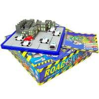 小乖蛋 桌面游戏 警察迷宫-惊险拦截儿童早教玩具益智迷宫