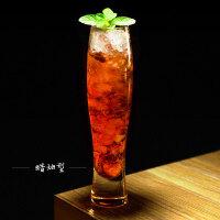 创意高身 鸡尾酒杯无铅玻璃杯子杯长饮杯果汁饮料玻璃杯酒吧酒杯