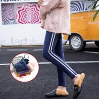 冬装新款时尚孕妇裤双面绒加绒加厚外穿托腹裤冬季保暖孕妇打底裤
