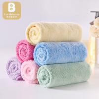 婴儿洗脸巾儿童小方巾手帕婴儿用品宝宝口水巾柔软毛巾
