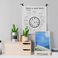 好货桌面小画架多功能ipad支架木制折叠水彩油画台式迷你展示架 图片色 图片色