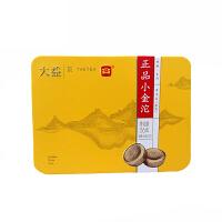 大益普洱茶 正品小金沱熟茶 迷你沱茶36g(1盒)