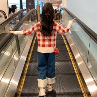 女童秋冬装套装儿童洋气时髦大童装女孩