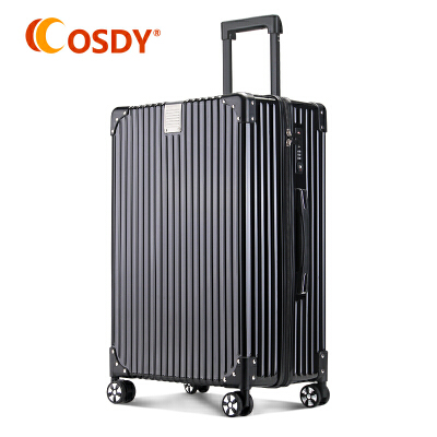 【可礼品卡支付】OSDY拉杆箱海关锁出国旅行箱万向轮26寸行李箱A930