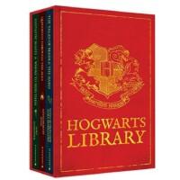 The Hogwarts Library Boxed Set [Hardcover] 《哈利・波特在魔法学校读的书》 套装(含《诗翁彼豆故事集》、《神奇动物在哪里》、《神奇的魁地奇球》;精装) ISBN9781408834824