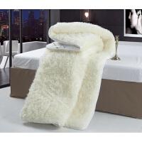 进口澳洲羊毛垫 全羊毛床垫床褥子双人 加厚保暖 学生单人定制