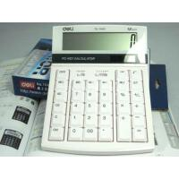 得力1640计算器/太阳能双电源/电脑按键 触感/12位