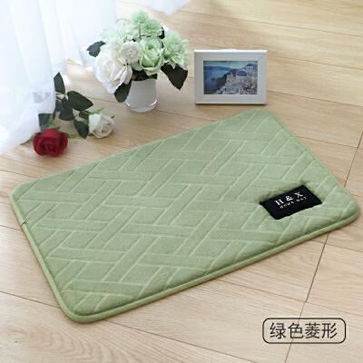 记忆棉吸水地垫浴室卫生间门口防滑脚垫厨房门厅门垫卧室地毯床边