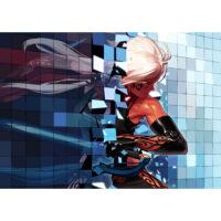 DNF经典格斗网游 网络游戏卧室网吧 海报装饰画实木相框墙画贴画