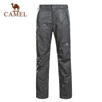 CAMEL 骆驼户外 秋冬新品 情侣款冲锋裤 2F01228 2F01229