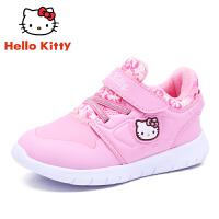 【到手价:109元】HELLO KITTY凯蒂猫童鞋女童运动鞋冬季新款儿童鞋女孩学生休闲鞋潮K8543819