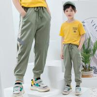 男童夏装速干薄款工装裤儿童中大童夏季裤子运动裤