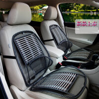 木珠汽车座垫单片制冷坐垫夏季通风凉垫凉席竹片单座司机主驾驶员