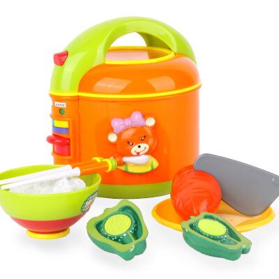 【满200减100】星月 儿童过家家玩具 仿真厨房电饭煲 角色扮演 切切乐 益智玩具满200减100(6.16-6.20
