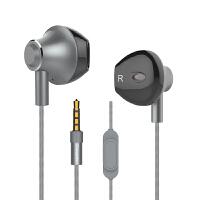 耳机入耳式重低音K歌有线手机半耳塞男女生苹果安卓通用低音炮hifi线控安卓可爱迷你立体高音质