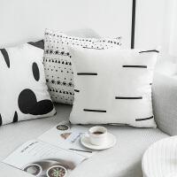 棉麻抱枕 趣味DIY个性沙发靠垫腰枕床头靠背结婚礼品