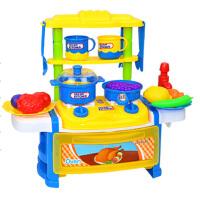 儿童【】儿童过家家厨房玩具灯光声效可出水厨具女孩煮饭做饭