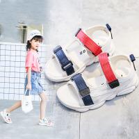 2019夏季新款女童凉鞋中小儿童鞋子男童沙滩鞋软底鞋