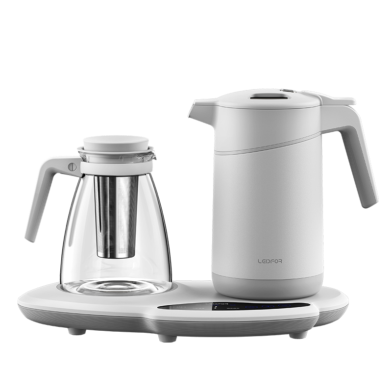 【新品】电热水壶保温一体煮茶台泡茶玻璃自动断电茶具烧水壶1.5升