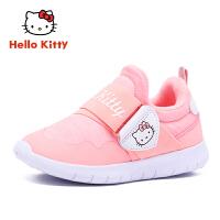【到手价:109元】HELLO KITTY凯蒂猫童鞋女童运动鞋冬季新款儿童鞋女孩学生休闲鞋潮K8546803