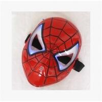 �和��f圣��和�面具蝙蝠�b�l光蜘蛛��F�b美����L盾牌面具男孩cos