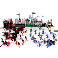 启蒙 城堡未来骑士团 积木玩具兼容乐高军事男孩 我的世界幻影忍者儿童立体拼插拼装