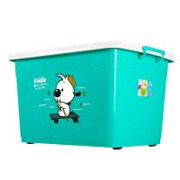 特大号衣服收纳箱塑料整理箱衣物收纳盒有盖储物箱批发三件套 超值套装⑦(120L+170L+170L) 3个装