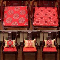 实木椅子垫海棉垫沙发坐垫厚滑餐椅垫圈茶椅飘窗垫中式定做定制