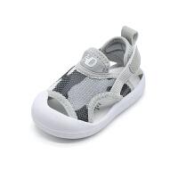 婴儿透气网鞋夏季宝宝凉鞋1-3岁儿童学步鞋男童沙滩鞋子