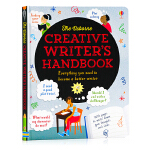 Usborne 创意小作家手册 Creative Writer's Handbook 英文原版 儿童英语写作笔记指南