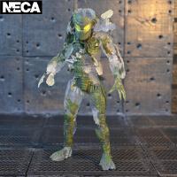Q-NECA铁血战士大战异形30周年P1元祖丛林猎手恶魔手办模型 透明恶魔 盒装