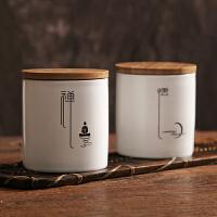【优选】陶瓷密封茶叶罐 储存茶罐收纳包装茶叶盒 普洱醒茶桶储物功夫茶具