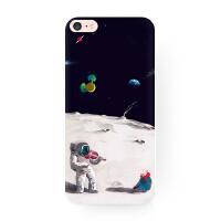 太空人插画星空原创苹果XS Max iphone XR 6 7 8 plus手机壳