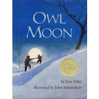 Owl Moon (Caldecott Medal Book) 《月下看猫头鹰》(1988年 凯迪克金奖绘本,精装 I