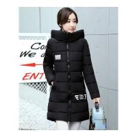 反季羽绒女士中长款冬季韩版修身显瘦棉衣学生棉袄女外套
